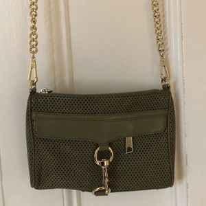 Rebecca Minkoff army green crossbody bag!